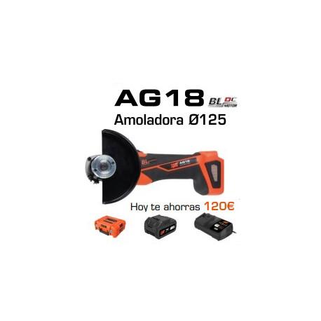 Amoladora AG18 SPIT Ø125 SPIT