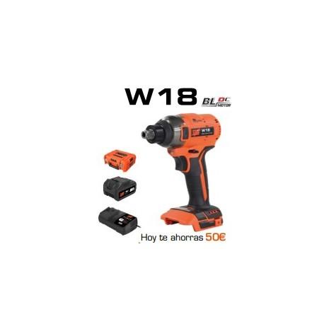Atornillador de impacto W18 SPIT Doble insercción