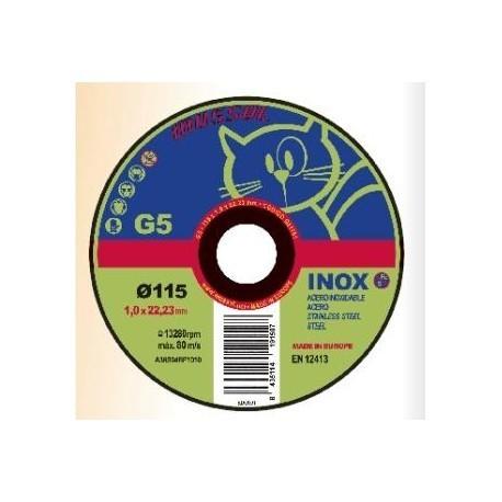 Disco de corte 115 G5 INOX