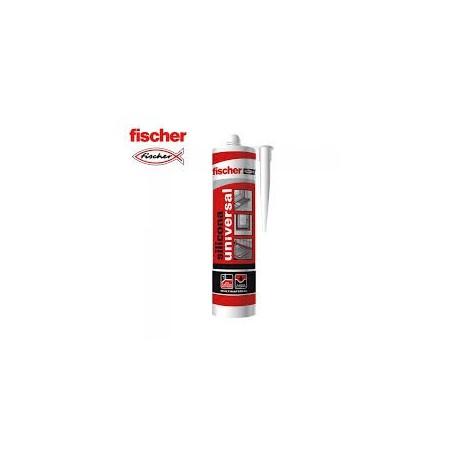 SILICONA UNIVERSAL BLANCO FISCHER (280 ml.)