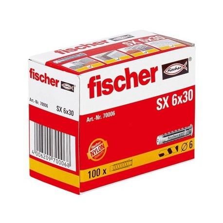 Taco SX 6x30 FISCHER (100 uds.)