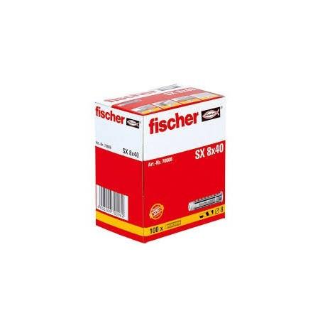 Taco SX 8x40 FISCHER (100 uds.)