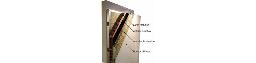 Aislamiento acústico en pared