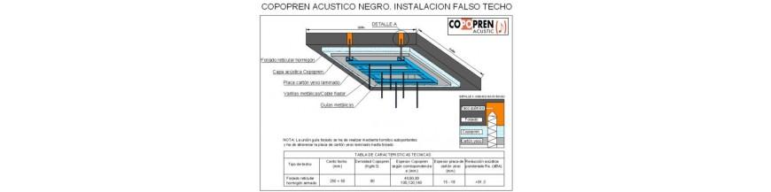 Aislamiento acústico en techo